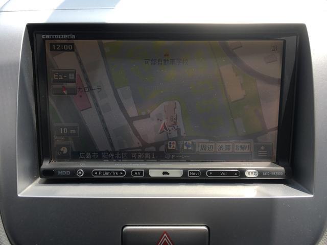 FXリミテッドII HDDナビ 地デジワンセグTV キーレスプッシュスタートシステム ETC 純正14インチアルミ オートエアコン HIDヘッドライト(15枚目)
