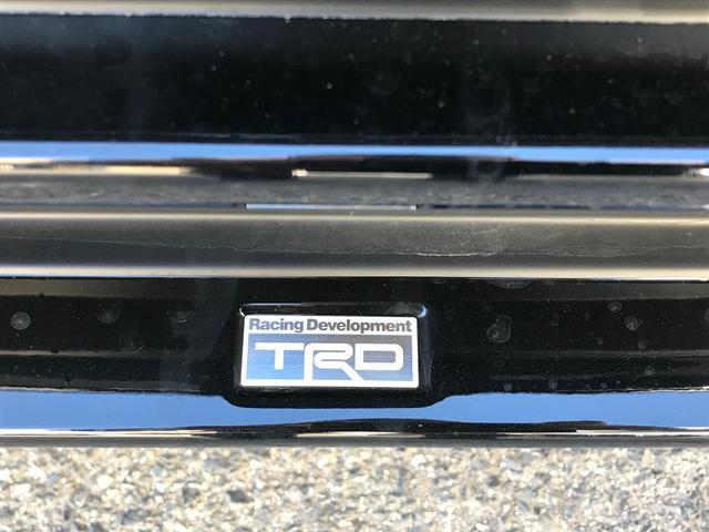 TXLパッケージ サンルーフ 黒革 SDナビ TRDマフラー(5枚目)