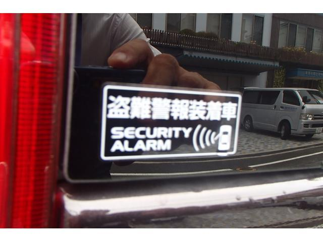 盗難警報装着!