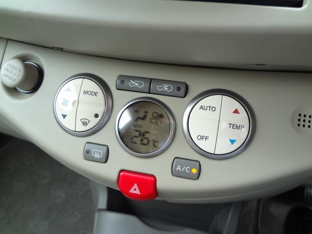 日産 マーチ 12c Vセレクション インテリキー オートライト 盗難防止