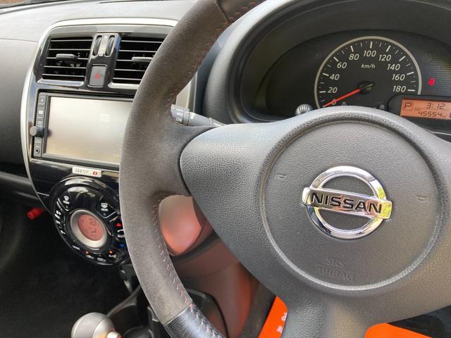 ニスモ ナビTV Bluetooth CD スマートキー ワンオーナー 16インチアルミホイール セキュリティ 横滑り防止機能 アイドリングストップ(18枚目)