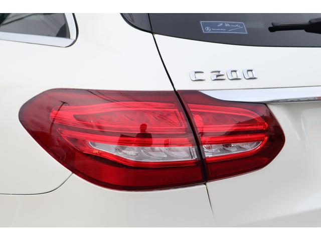 C200 ステーションワゴン スポーツ C63仕様/マフラー/TWS鍛造20インチAW/パナメリカーナグリル/レーダーセーフティPKG/パワーシート/シートヒーター/LEDヘッドライト/純正HDDナビ/フルセグTV(40枚目)