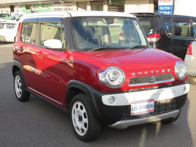 「スズキ」「ハスラー」「コンパクトカー」「岡山県」の中古車11