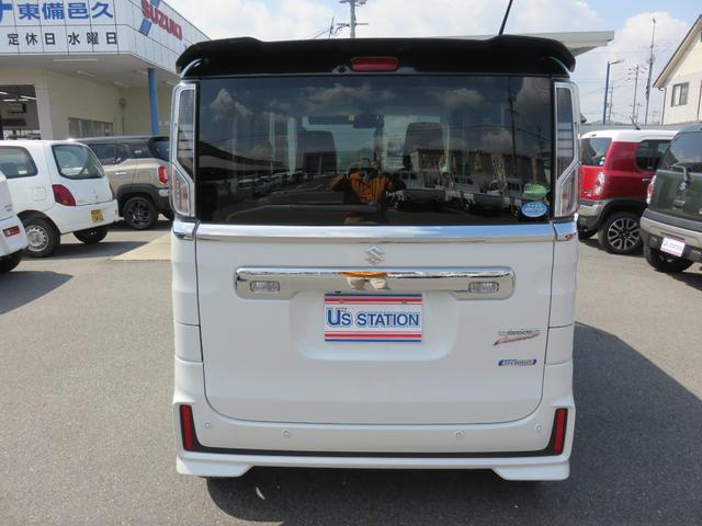 「スズキ」「スペーシアカスタム」「コンパクトカー」「岡山県」の中古車3