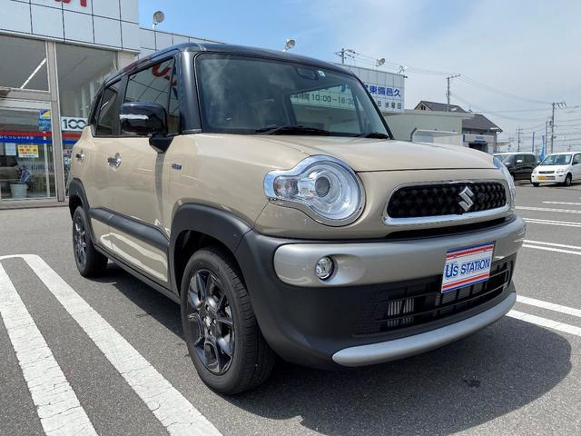 「スズキ」「クロスビー」「SUV・クロカン」「岡山県」の中古車3