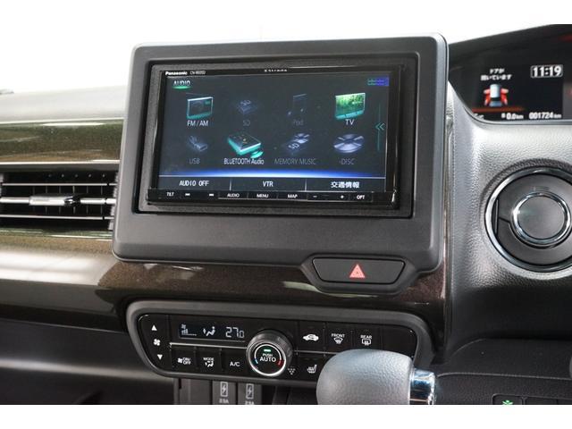 G・Lホンダセンシング 両側スライド左側パワースライドドア 衝突軽減ブレーキ 禁煙 ナビTV バックカメラ BT ETC スマートキー レーダークルーズ オートライト クリアランスソナー DVD LEDヘッド 地デジ ABS(11枚目)