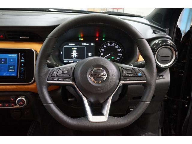 X ツートーンインテリアエディション 登録済未使用車 プロパイロット アラウンドビュー TVナビ 黒革シート 禁煙車 ルーフレール レーダークルーズ LEDヘッドライト アイドリングストップ バックカメラ(10枚目)