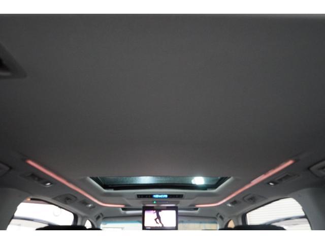 2.5Z Gエディション サンルーフ モデリスタ 10型TVナビ フリップダウン 両側電動スライド ハーフレザー ETC パワーバックドア ローダウン 3列シート CD DVD フルセグ クリアランスソナー エアロ オットマン(57枚目)