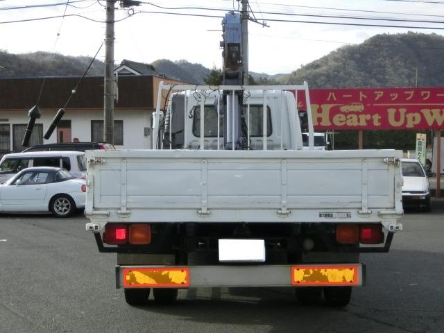 三菱ふそう ファイター タダノ 4段クレーン フックイン
