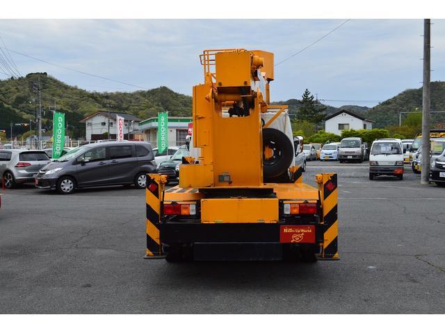 高所作業車12.5m 5速MT ドライブレコーダー TEC(13枚目)