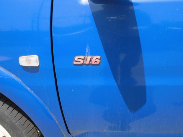 S16リミテッド 5速MT スポーツLINEマフラー(9枚目)