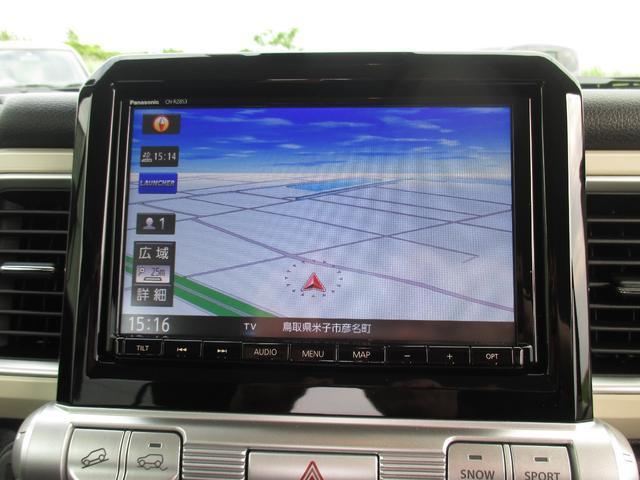 ハイブリッドMZ 4WD・スズキセーフティーサポート・純正8インチナビ・TV・全方位モニター・OPツートンカラー・LEDヘッドライト・クルーズコントロール・パドルシフト・フロントシートヒーター(10枚目)