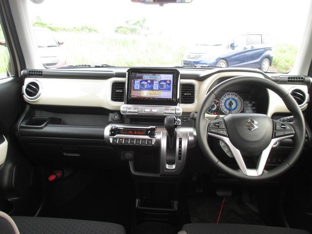 ハイブリッドMZ 4WD・スズキセーフティーサポート・純正8インチナビ・TV・全方位モニター・OPツートンカラー・LEDヘッドライト・クルーズコントロール・パドルシフト・フロントシートヒーター(15枚目)