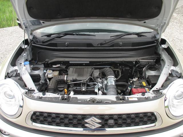 ハイブリッドMZ 4WD・スズキセーフティーサポート・純正8インチナビ・TV・全方位モニター・OPツートンカラー・LEDヘッドライト・クルーズコントロール・パドルシフト・フロントシートヒーター(17枚目)