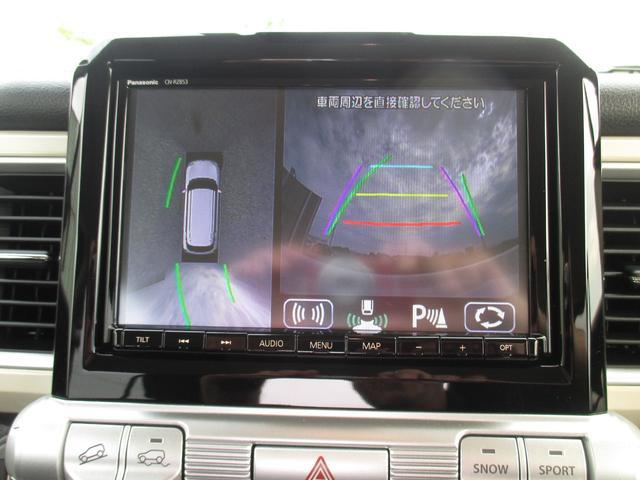ハイブリッドMZ 4WD・スズキセーフティーサポート・純正8インチナビ・TV・全方位モニター・OPツートンカラー・LEDヘッドライト・クルーズコントロール・パドルシフト・フロントシートヒーター(50枚目)