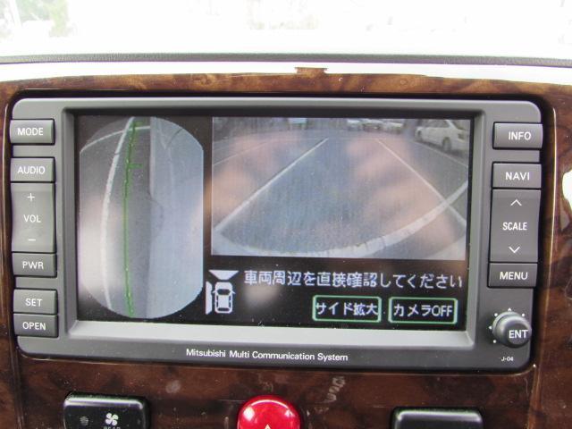 三菱 デリカD:5 M バックカメラ サイドカメラ HID TVナビ 禁煙車