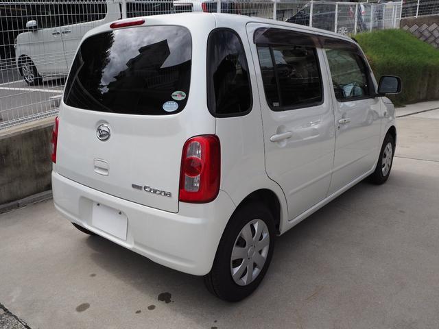 ココアX ETC 軽自動車 パールホワイト スマートキー(3枚目)