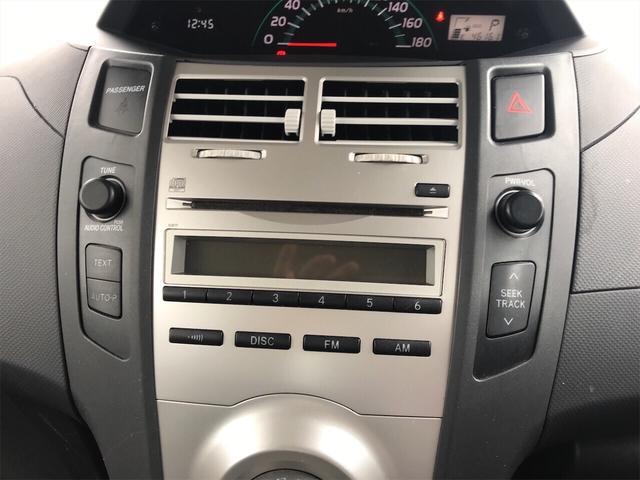 F CVT 保証付 オーディオ付 コンパクトカー(11枚目)