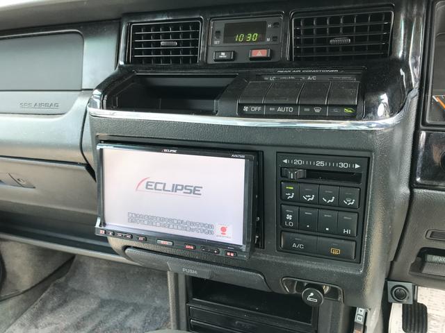 トヨタ クラウンステーションワゴン ロイヤルサルーン ナビ Wエアバッグ ABS サンルーフ
