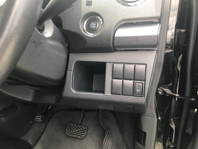 キーを携帯しているだけで、エンジンの始動が可能な装備です。プッシュスタートですのでエンジンの始動もボタンを押すだけです