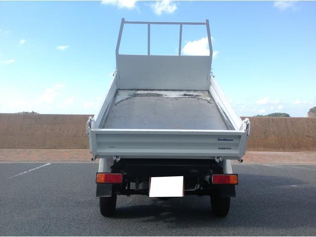 ダンプ 4WD エアコン デフロック 修復歴なし 車検整備付(8枚目)