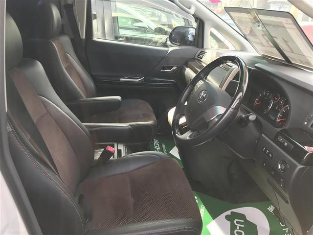 特別仕様車専用デザインのシートです
