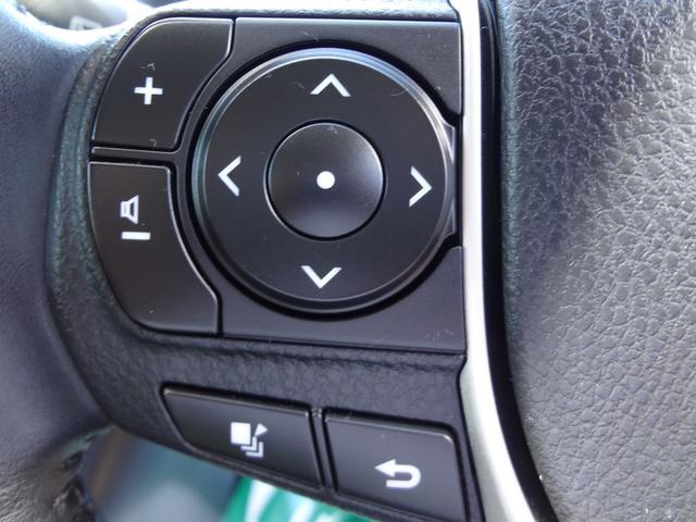 ハンドルでオーディオの操作が可能です!目線を動かさないので安全にも一役買いますし、手元でオーディオを操作するのが格好良いと思いませんか?