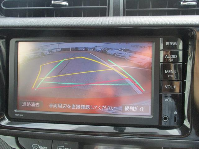 トヨタ アクア S SDナビ バックカメラ ワンオーナー