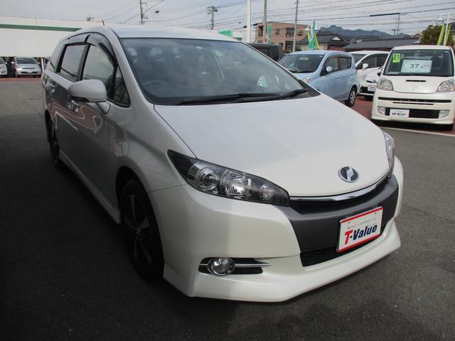 「トヨタ」「ウィッシュ」「ミニバン・ワンボックス」「山口県」の中古車3