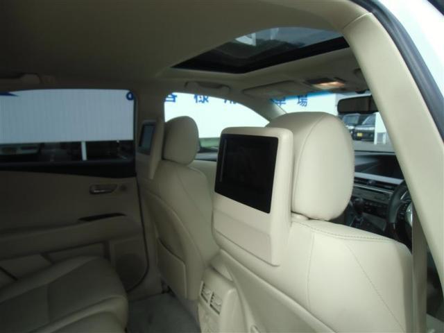 RX450h バージョンL 革シート サンルーフ 4WD フルセグ HDDナビ DVD再生 ミュージックプレイヤー接続可 後席モニター バックカメラ ETC LEDヘッドランプ ワンオーナー アイドリングストップ(28枚目)