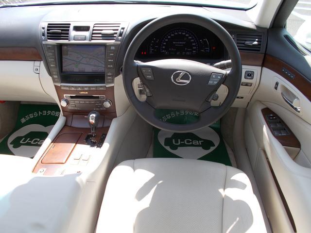 レクサス LS LS600h
