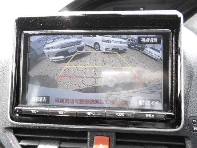 Gi ブラックテーラード フルセグ メモリーナビ DVD再生 後席モニター バックカメラ 衝突被害軽減システム 両側電動スライド LEDヘッドランプ ウオークスルー 乗車定員7人 3列シート ワンオーナー アイドリングストップ(13枚目)