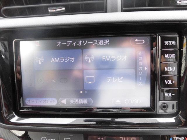 トヨタ アクア S 試乗車 ワンセグナビ バックカメラ スマートキー