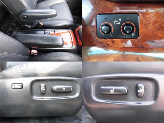 トヨタ ハリアー 240G Lパッケージ 本革シートヒーター HDDナビ