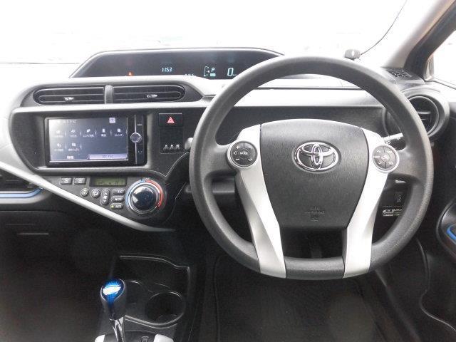 トヨタ アクア S フルセグメモリーナビ Bカメラ ETC フォグランプ