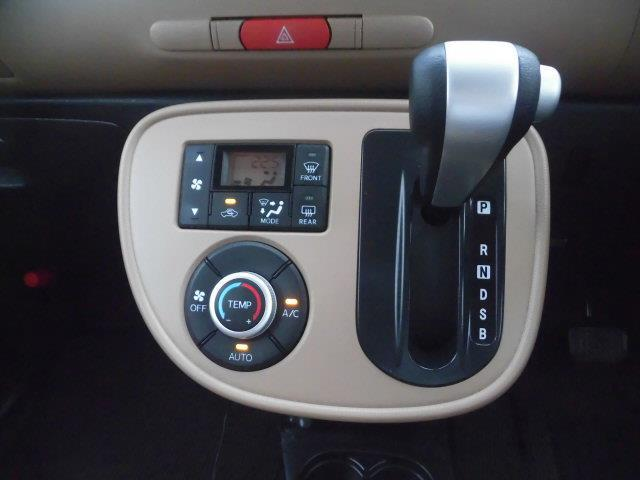 お好みの温度に設定すれば、おまかせで室内空間を快適に保ってくれるオートエアコンを装備☆