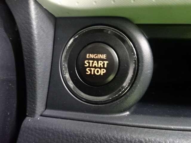 エンジンはブレーキを踏んでボタンを押すだけで始動します。