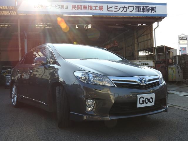 トヨタ SAI S LEDエディション 純正18AW キーフリー