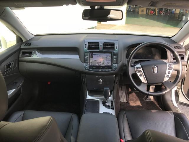 トヨタ クラウンハイブリッド Gパッケージ 黒革メーカーHDD 車高調アルミタイヤ新品