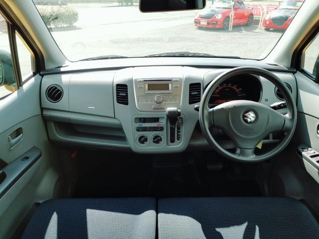 FX アルミホイール オートマ ダッシュオートマ キーレス 電格ミラー シルバー オーディオ エアコン フル装備 社用車 プライベート ベンチシート フルフラット タイミングチェーン チェーン式 スズキ(8枚目)