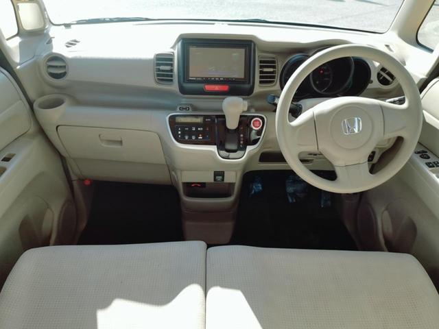 G 両側スライドドア ナビ フルセグ Bluetooth スライドドア Nシリーズ 軽自動車 オートエアコン スマートキー DVD再生 ファミリーカー ベンチシート CVT 社用車 ロードサービス 保証付(14枚目)