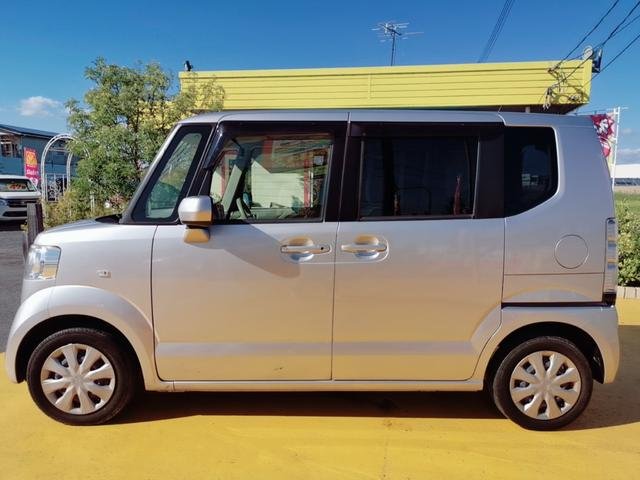 G 両側スライドドア ナビ フルセグ Bluetooth スライドドア Nシリーズ 軽自動車 オートエアコン スマートキー DVD再生 ファミリーカー ベンチシート CVT 社用車 ロードサービス 保証付(28枚目)