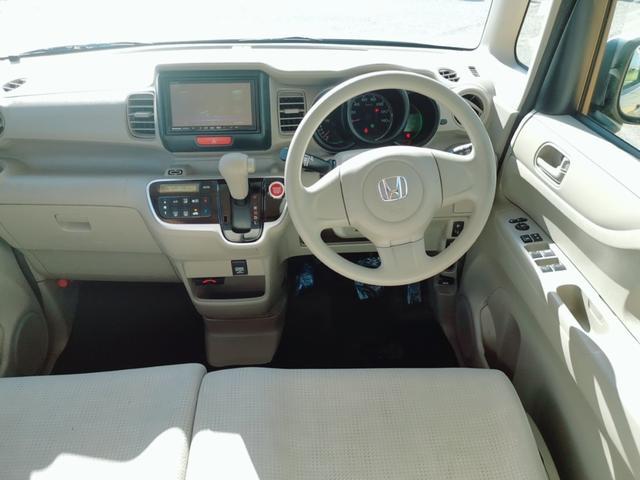 G 両側スライドドア ナビ フルセグ Bluetooth スライドドア Nシリーズ 軽自動車 オートエアコン スマートキー DVD再生 ファミリーカー ベンチシート CVT 社用車 ロードサービス 保証付(34枚目)