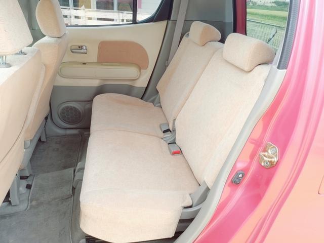 電格ミラー ベンチシート フル装備 ピンク タイミングチェーン ワゴン ダッシュオートマ K6A フルフラット ABS 日産 CDデッキ 衝突安全ボディ モコルージュ 鑑定付 ロードサービス