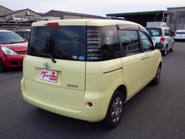 トヨタ シエンタ X HDDナビ 片側パワースライドドア キーレス 3列シート