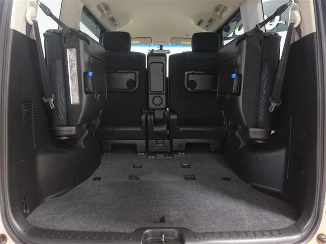 20X S-ハイブリッドアドバンスドセーフティパック フルセグ メモリーナビ DVD再生 ミュージックプレイヤー接続可 バックカメラ 衝突被害軽減システム ETC ドラレコ 電動スライドドア ウオークスルー 乗車定員 8人  3列シート ワンオーナー(7枚目)