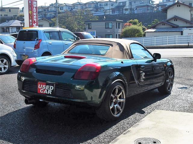 「トヨタ」「MR-S」「オープンカー」「広島県」の中古車4