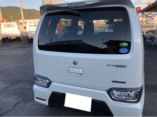 「スズキ」「ワゴンRスティングレー」「コンパクトカー」「山口県」の中古車6