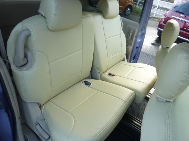 トヨタ シエンタ X 3列 CD 両側スライドドア キーレス 革調シートカバー