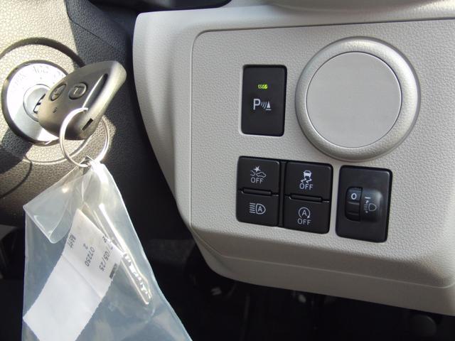 ダイハツ ミライース X SAIII デモカーアップ CDチューナー